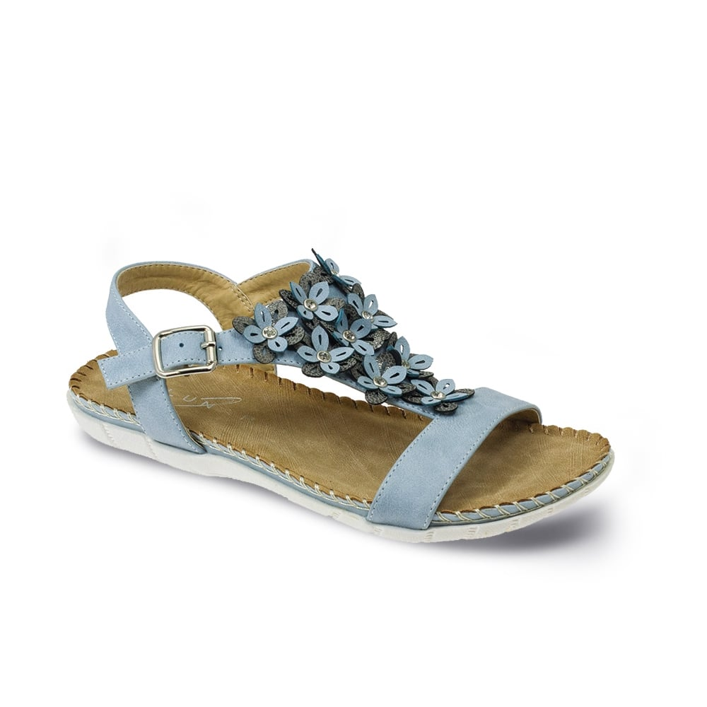 Lunar Temple Flower Sandal Ladies Sandals From Lunar
