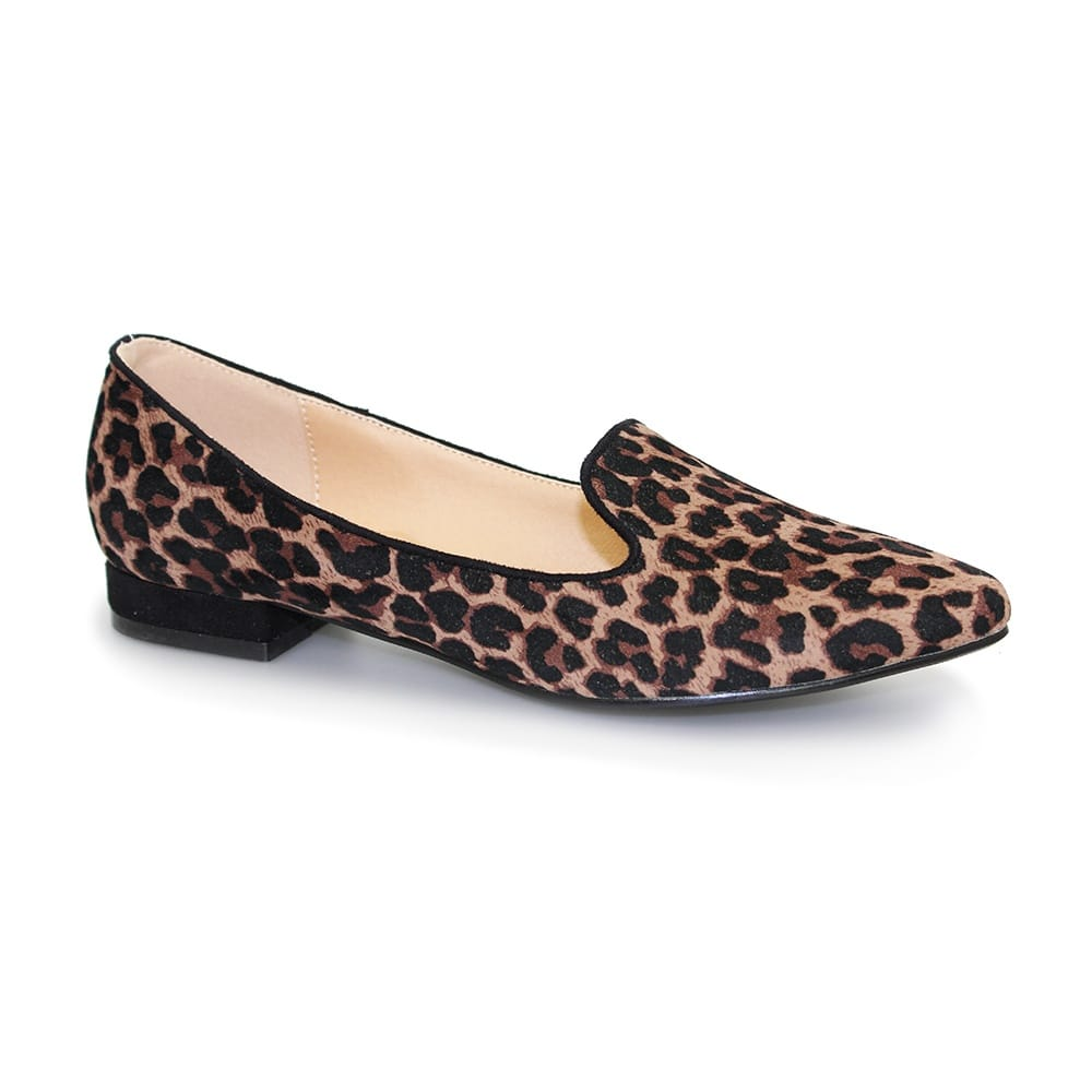 900af89feec1 Lunar Trenton Leopard Print Pumps - Shoes from Lunar Shoes UK