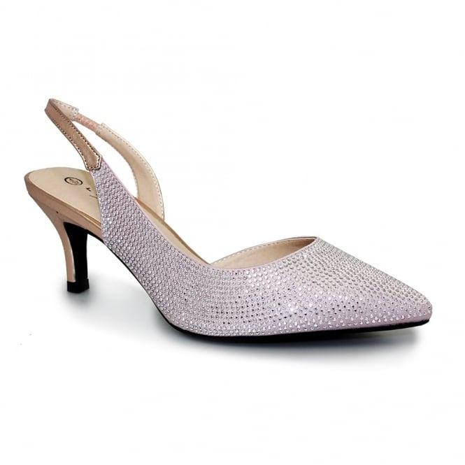 Lunar Trisha Diamante Sandal