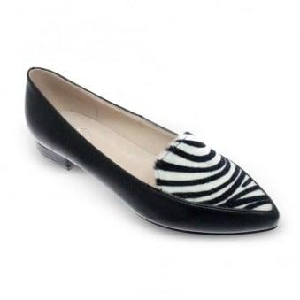 Una Zebra Print Shoe
