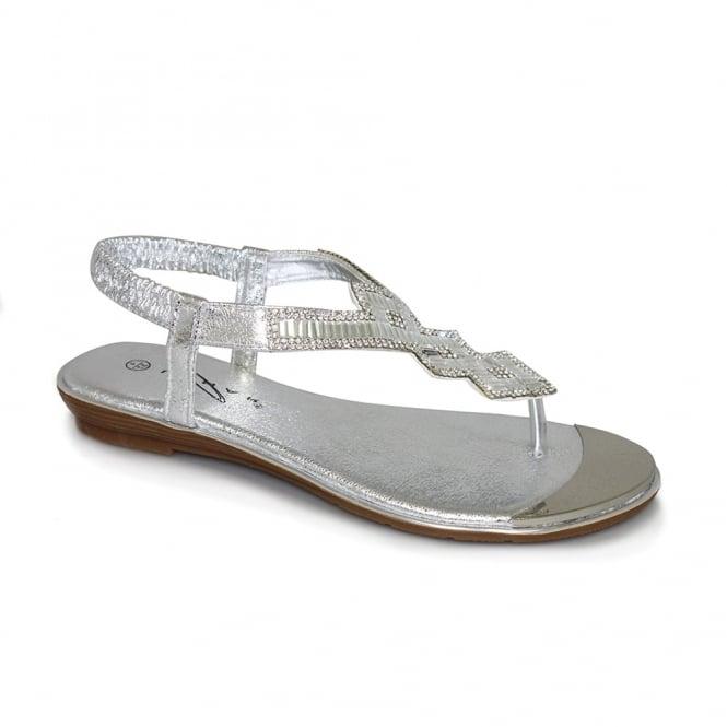 Lunar Violet Glitz Sandal