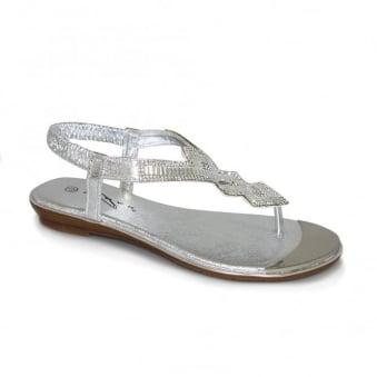 Violet Glitz Sandal