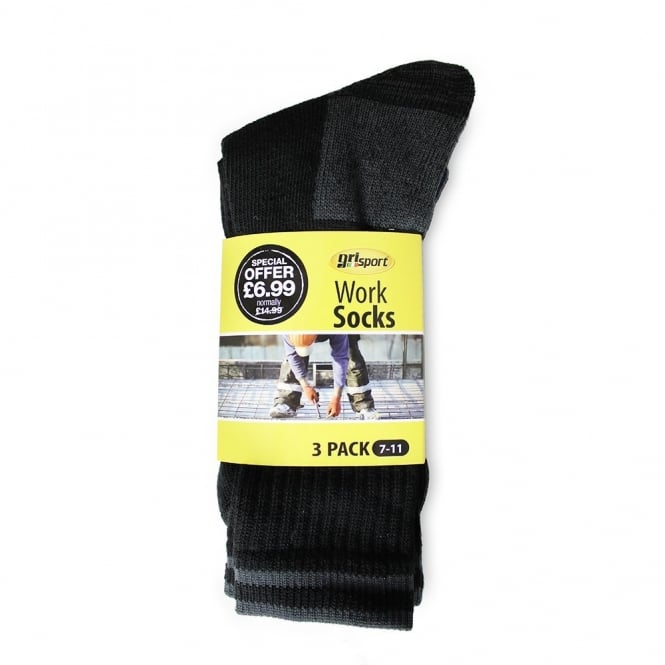 Grisport Work Socks 3-pack
